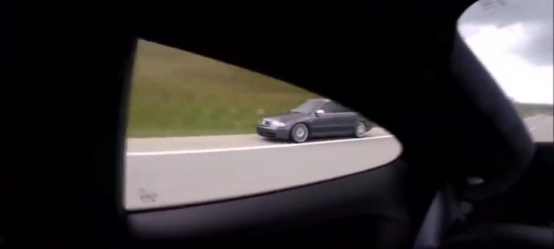 Audi RS4 vs Porsche