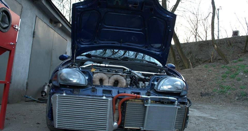 Fiat Seicento 1.4 Turbo with 490HP! - Turbo and Stance