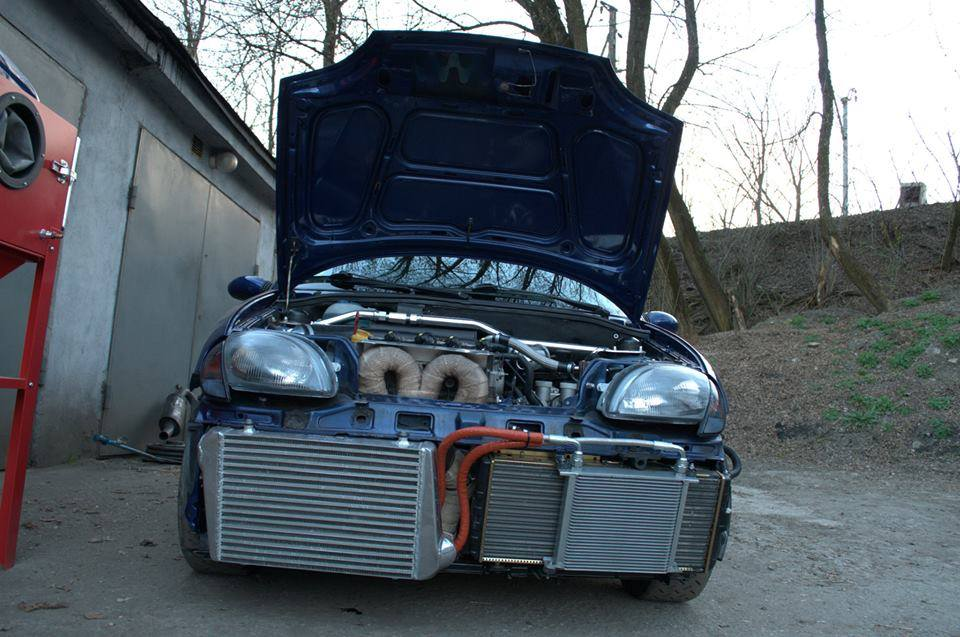 Fiat Seicento With A Turbo 1 4 L T Jet Abarth 500 Engine