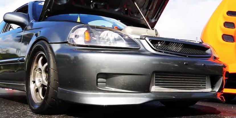 Turbo K24 Civic battles modded 2014 Viper - Turbo and Stance