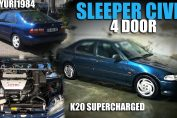 K20 Supercharged Sleeper Civic