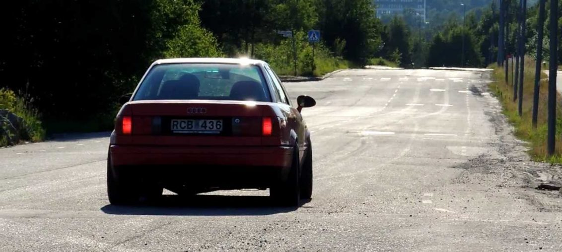 Audi S2 Launch Big Turbo