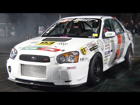 Subaru Impreza World record drag racing 8.4 Seconds