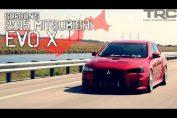 Mitsubishi lancer EVO X tuned stock