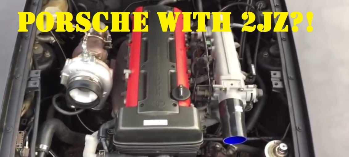 Porsches with crazy swaps K20 Vr6 2JZ 4G63