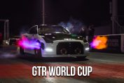 R35 GT-R World Cup drag event