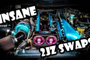 2JZ Swaps Supra engine