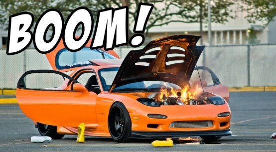 Dyno accidents explosions