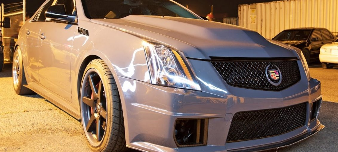 Rear wheel drive civic CTS-V