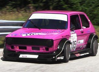 MK1 16v hillclimb