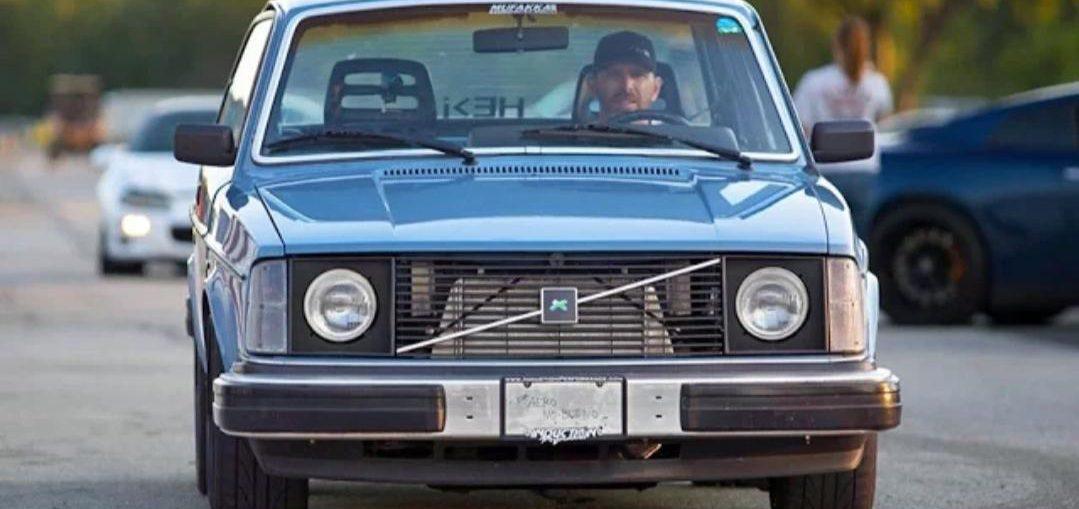 Turbo V8 volvo