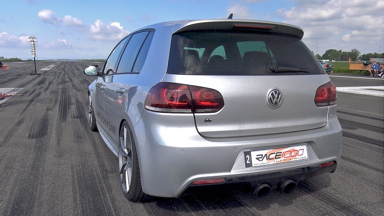 800hp volkswagen golf 6 r r32 turbo 4motion 1 2 mile drag race turbo and stance. Black Bedroom Furniture Sets. Home Design Ideas