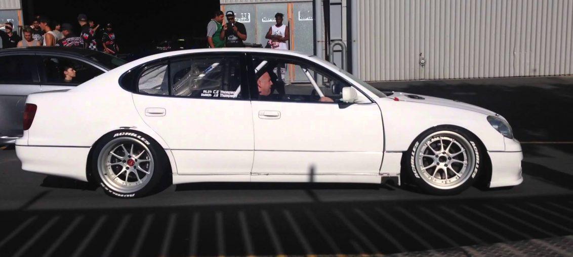 Lexus GS300 quad Rotary