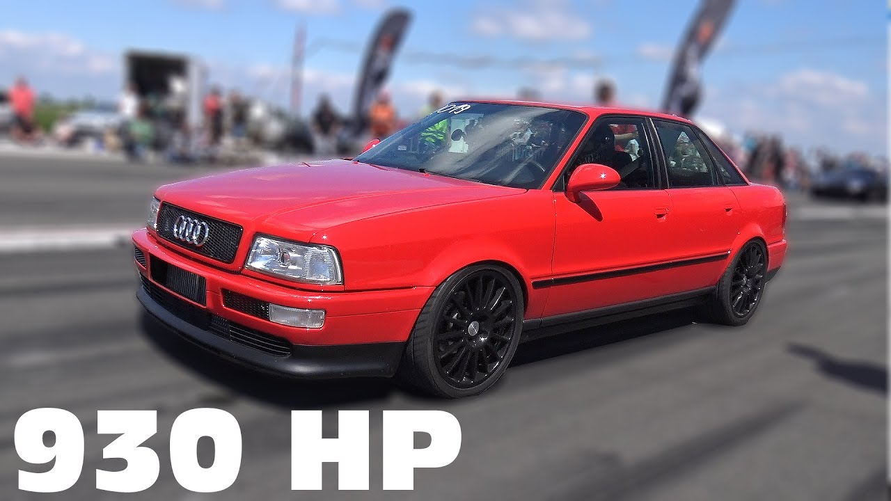 930 Hp Audi 80 Vr6 Turbo Quattro 0 285 Km H Top Speed Run