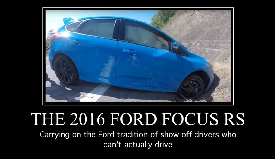 2016 focus rs drift mode epic fail turbo and stance