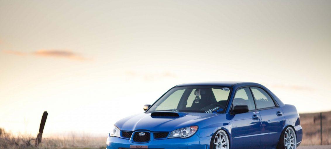 Subaru impreza jdm stance