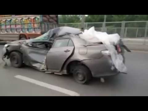 Crashed Toyota Pakistan