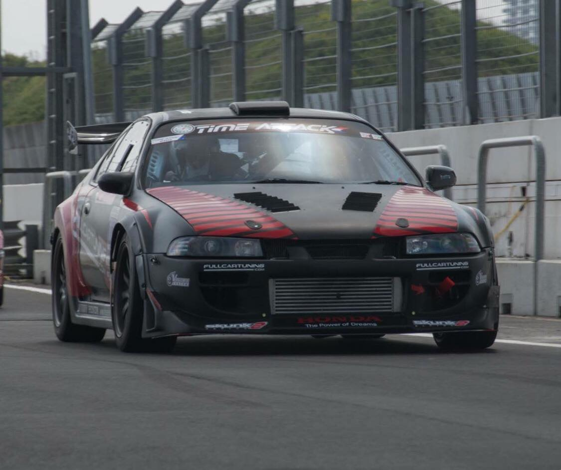 Time Attack Honda Prelude 2.2 VTEC 556HP - Turbo and Stance