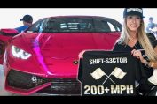 PINK Twin Turbo Huracan SMASHES World Record!