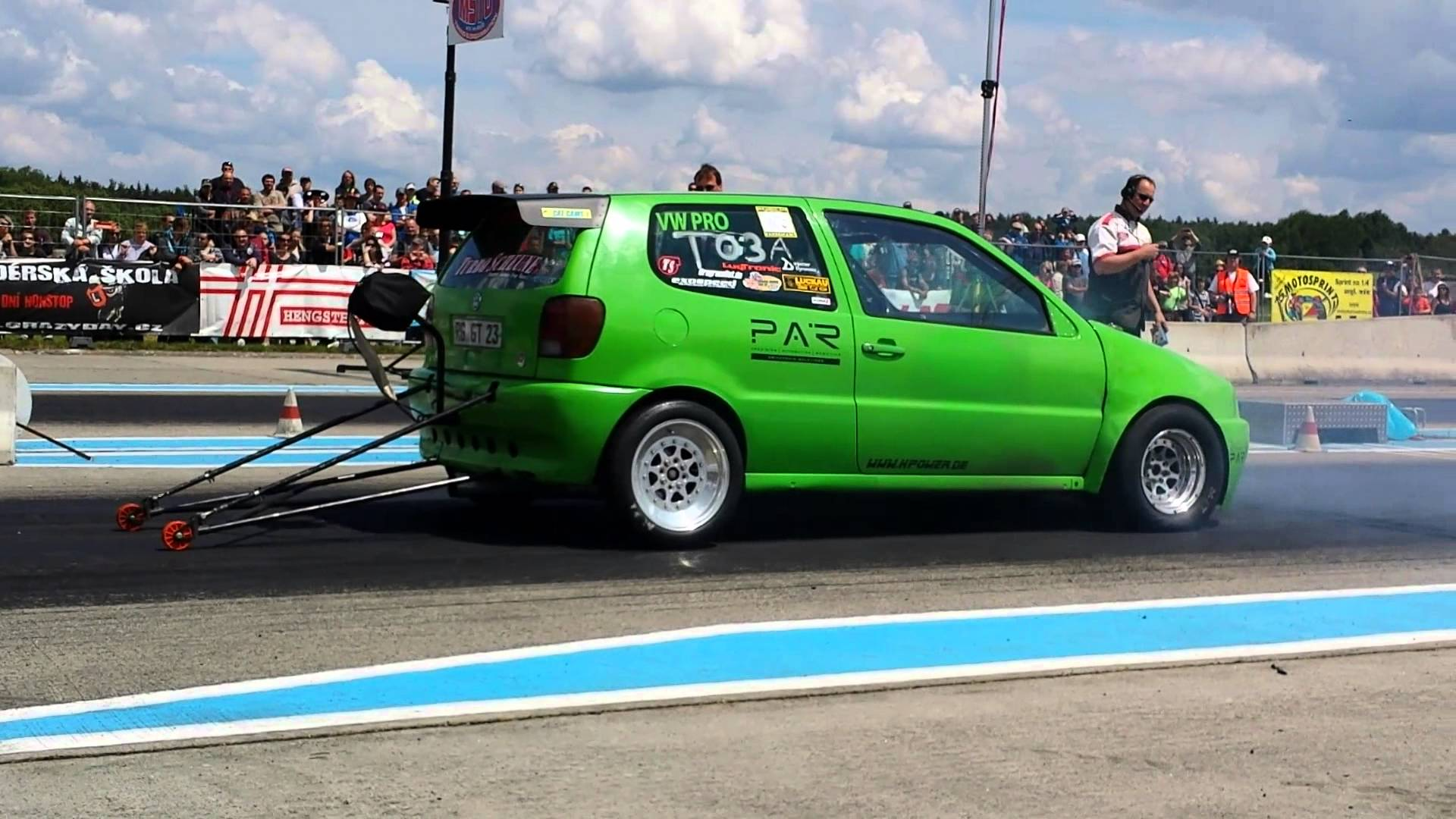 Vw Polo Vr6 Turbo 1000 Hp H Power Turbo And Stance