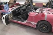 Spanish Police busted fake ferrari Lamborghini Kitcars