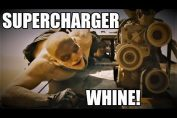 Supercharger whine sound