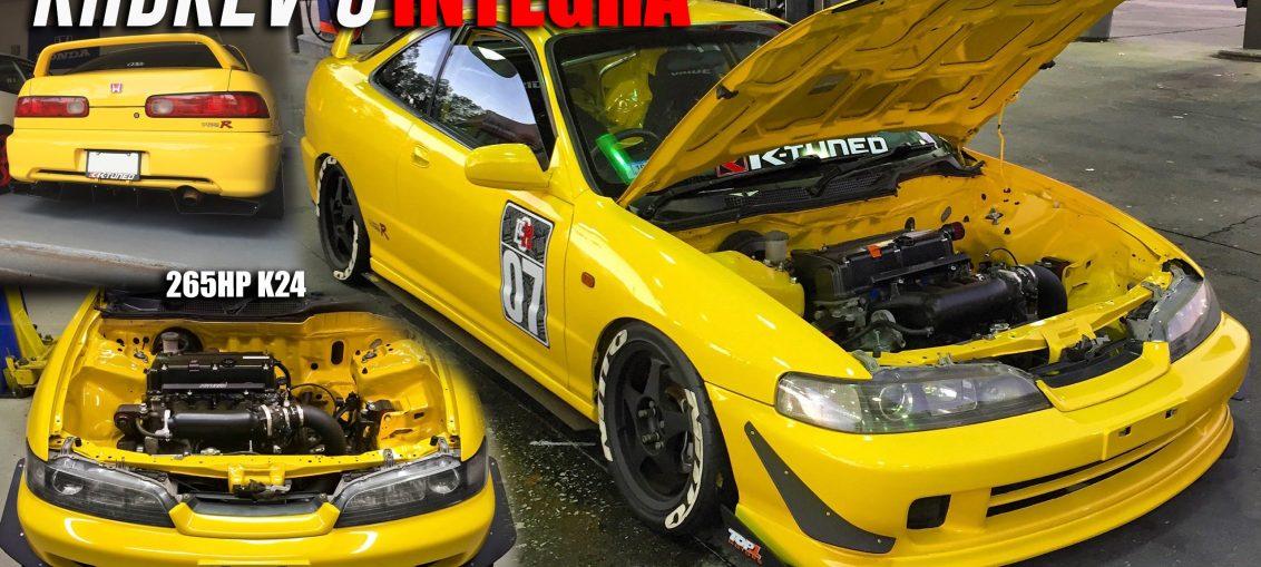 Integra K24 Honda