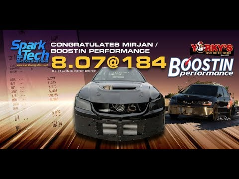 Fastest lancer evo world record