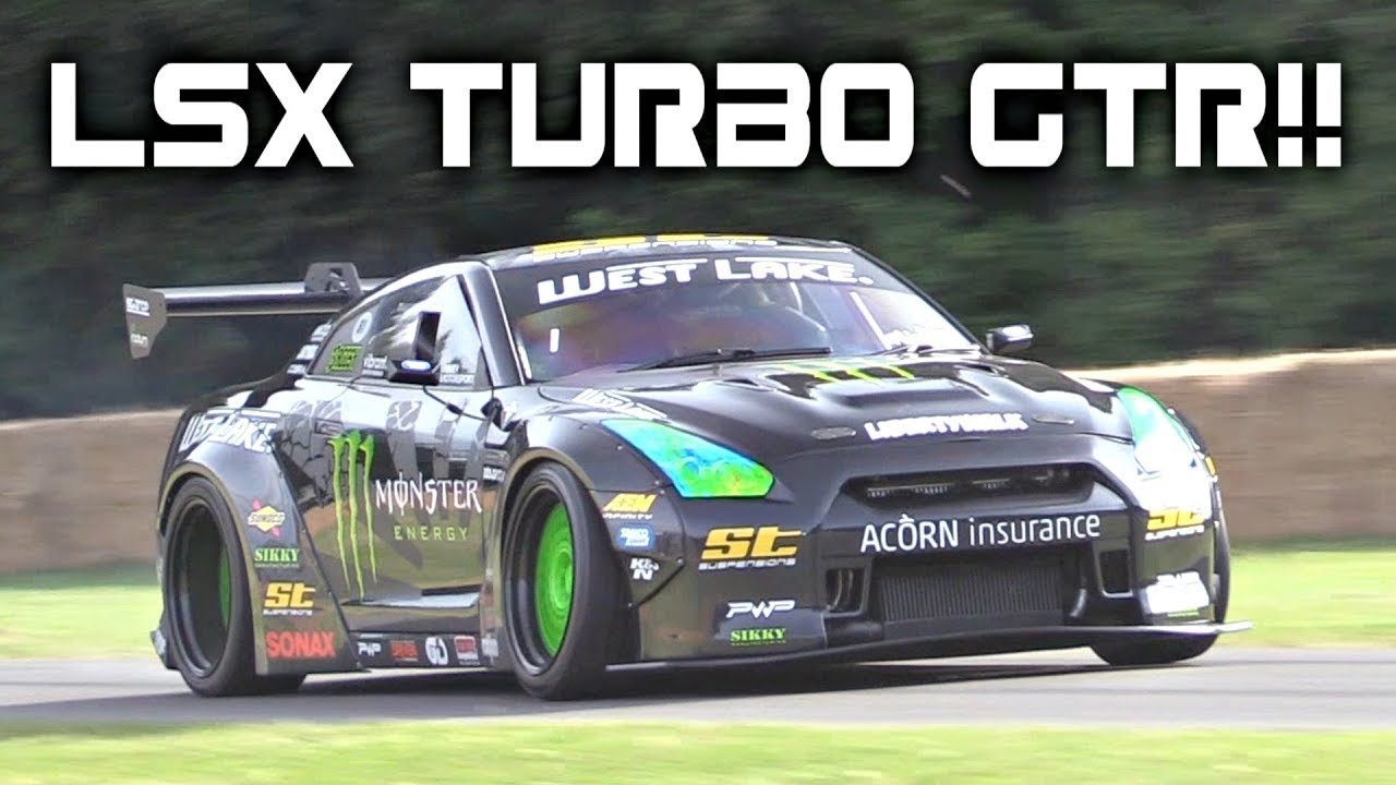 Wrx Vs Gti >> World's First LSX-Powered GT-R - Liberty Walk 1200HP Nissan R35 GTR Drift Build! - Turbo and Stance