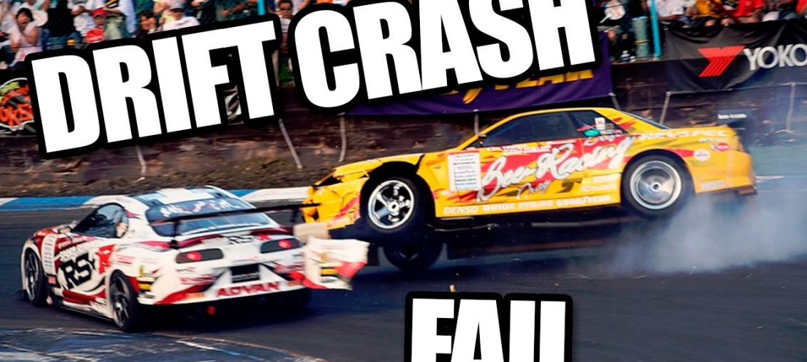 Drift crashes fails