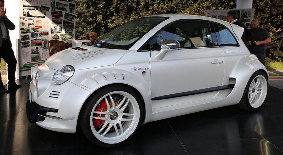 This Is Probably The World S Maddest Fiat 500 Turbo And Stance