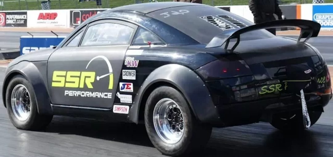 Drag Track Racing Stanced Cars Turbocharged