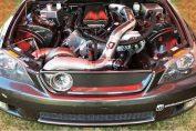 Lexus big turbo V8