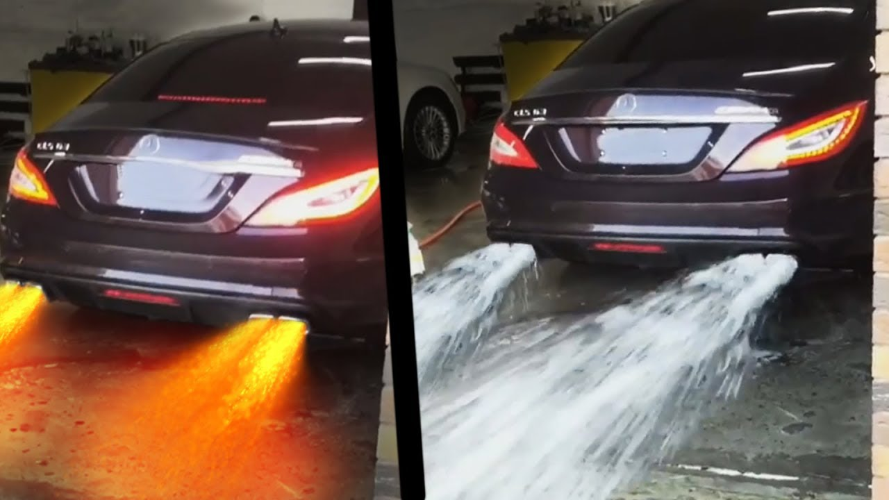 CARS Spitting WATER and FLAMES!! UNBELIEVABLE ! - Turbo ...