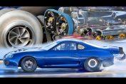 2400hp Toyota Supra 2jz big turbo
