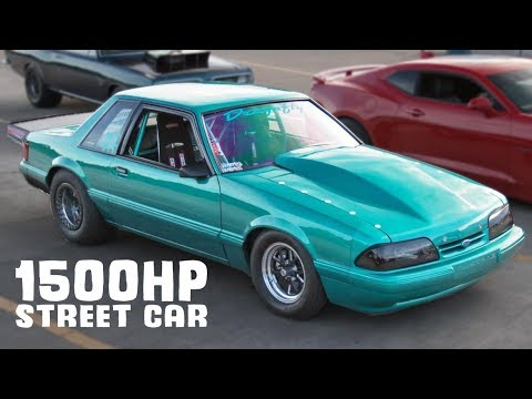 Foxbody Gets REVENGE on a SUPRA! - Turbo and Stance