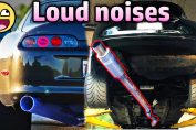 INSANE Sounding straight pipes cars