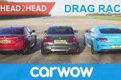 Mercedes-AMG E63 S v BMW M5 v Audi RS 5 DRAG & ROLLING RACE
