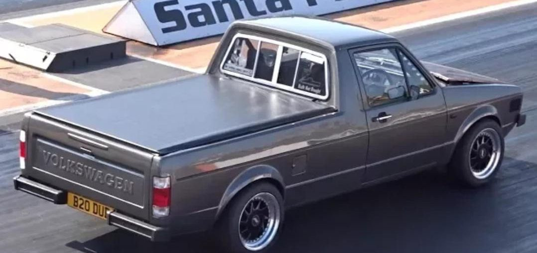 Quickest VW Caddy MK1 In The World - 640HP - 10 15 @ 141mph