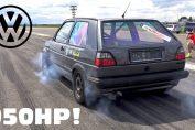 950HP VR6 Turbo Golf