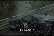 R35 GT-R Crash