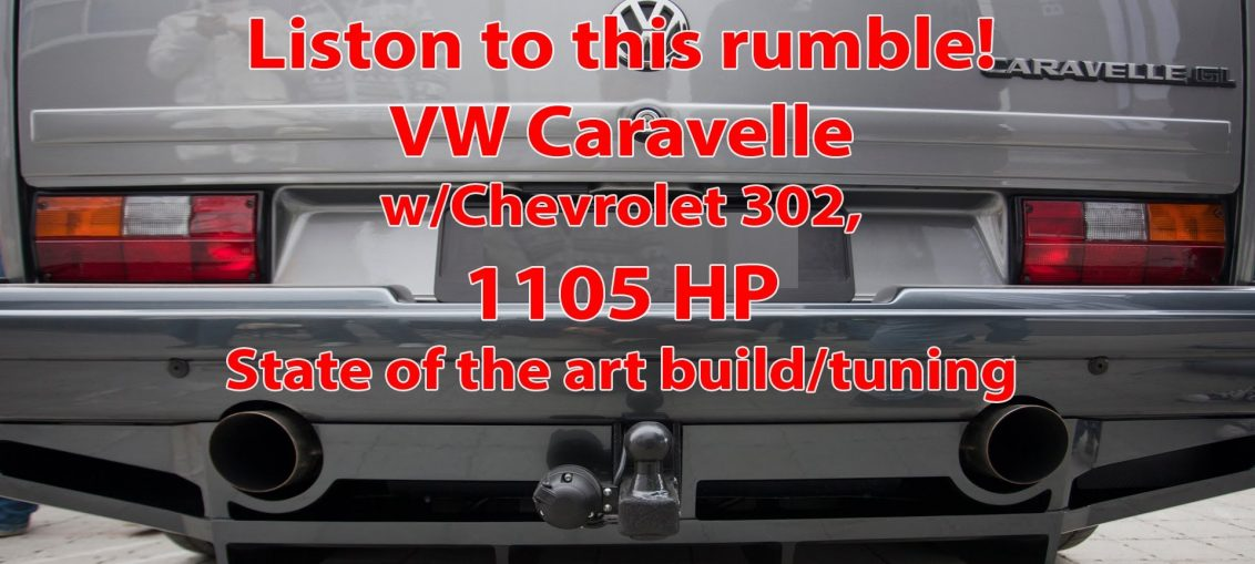 caravelle twin turbo v8