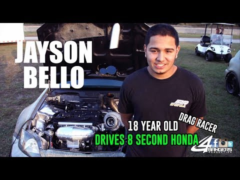 18 YEAR OLD DRIVES 1200HP HONDA - Jayson Bello