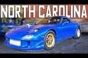 north carolina street racing rx7 corvette
