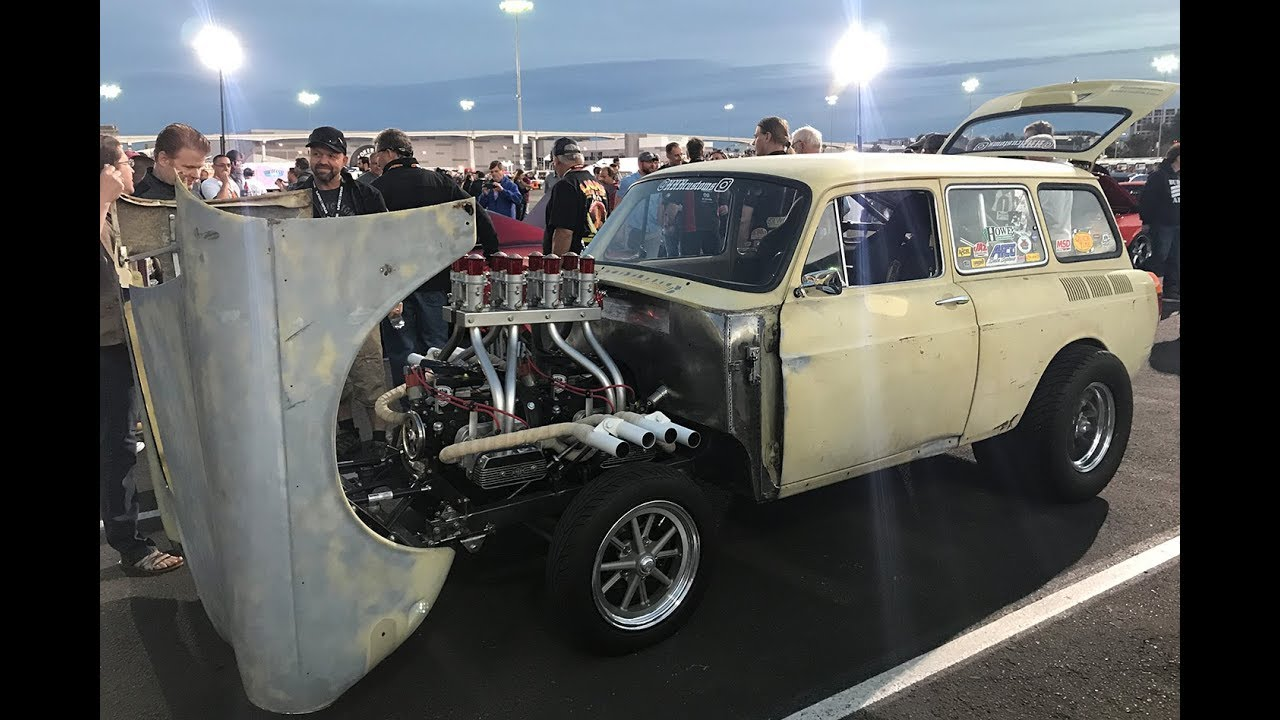 Twin Engine Type 3 Volkswagen Gasser Turbo And Stance