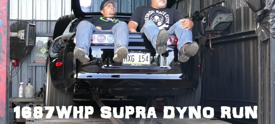 1700HP Supra 2jz Dyno run