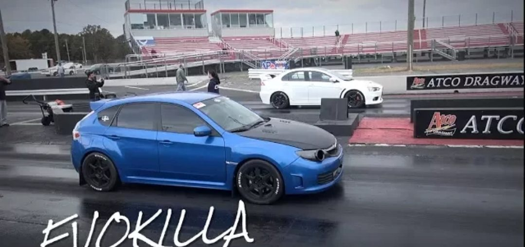Lancer evolution vs Subaru Impreza WRX STI