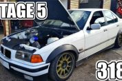 BMW 318i Tuned Tuning