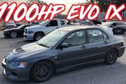 sequential gearbox lancer evo 1100HP