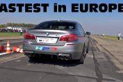 fastest m5 f10